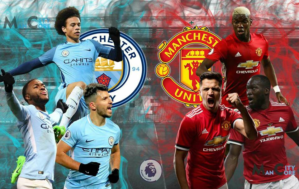 Image result for manchester city vs manchester united