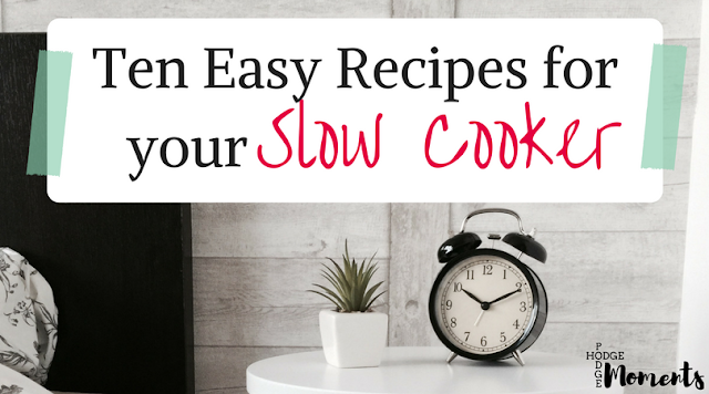 Ten Easy Recipes for Your Slow Cooker