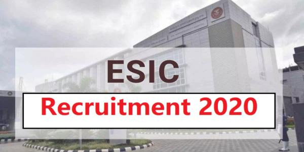 ESIC Recruitment 2020 Apply For Associate Professor And Assistant Professor Posts