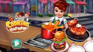 Jogo grátis Cooking Madness jogo de cozinha