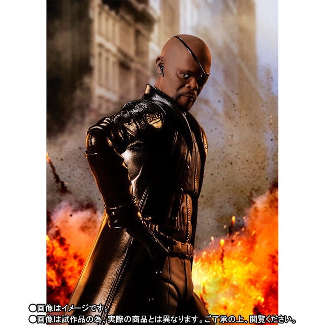 S.H.Figuarts Nick Fury de Avengers: Infinity War - Tamashii Nations