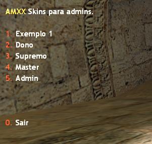 Plugin – Skins Manager (Gerenciamento de Models)