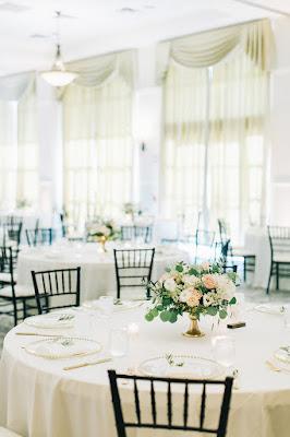 simple ballroom setup at Lake Mary Events Center