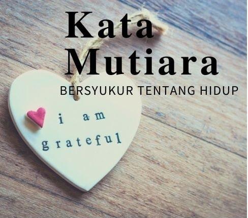 Kata Mutiara Bersyukur