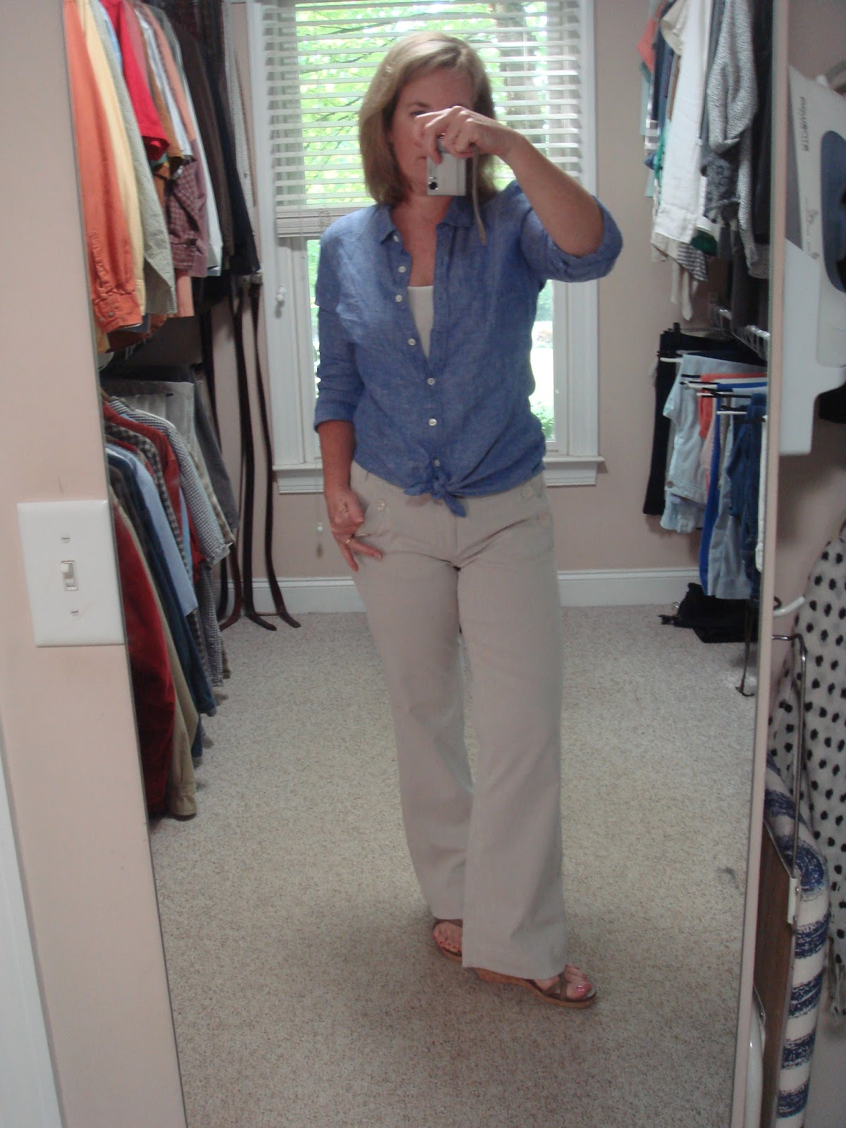 20bd5af6 The Blue Booby: J Crew Reviews: Crosshatch Linen, Perfect Linen ...