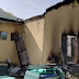 Thugs Set INEC Office Ablaze In Akwa Ibom, Card Readers Burnt