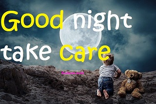 good night take care images