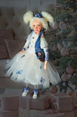кукла интерьерная Пьерета