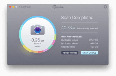 Free Up Startup Disk by Downloading Gemini Duplicate Cleaner for Free