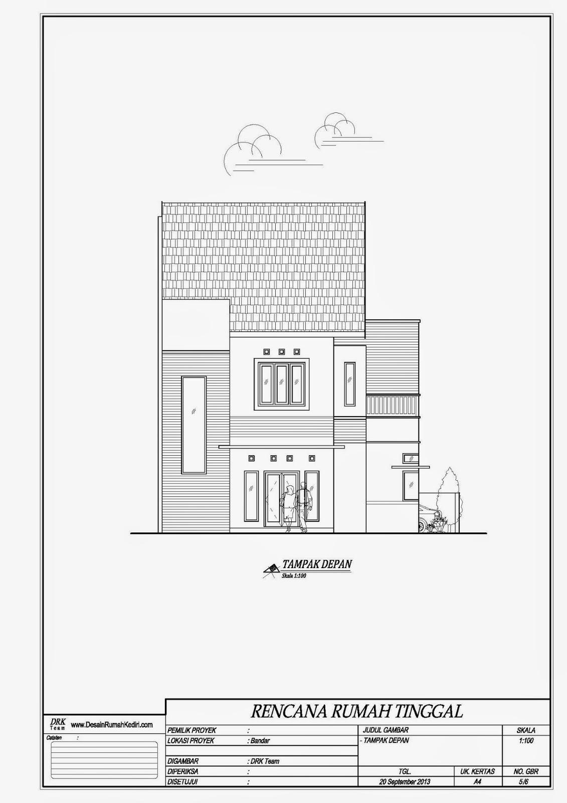 Lt2 10 Rumah Minimalis Hook 2 Lantai Bandar Kidul Kota