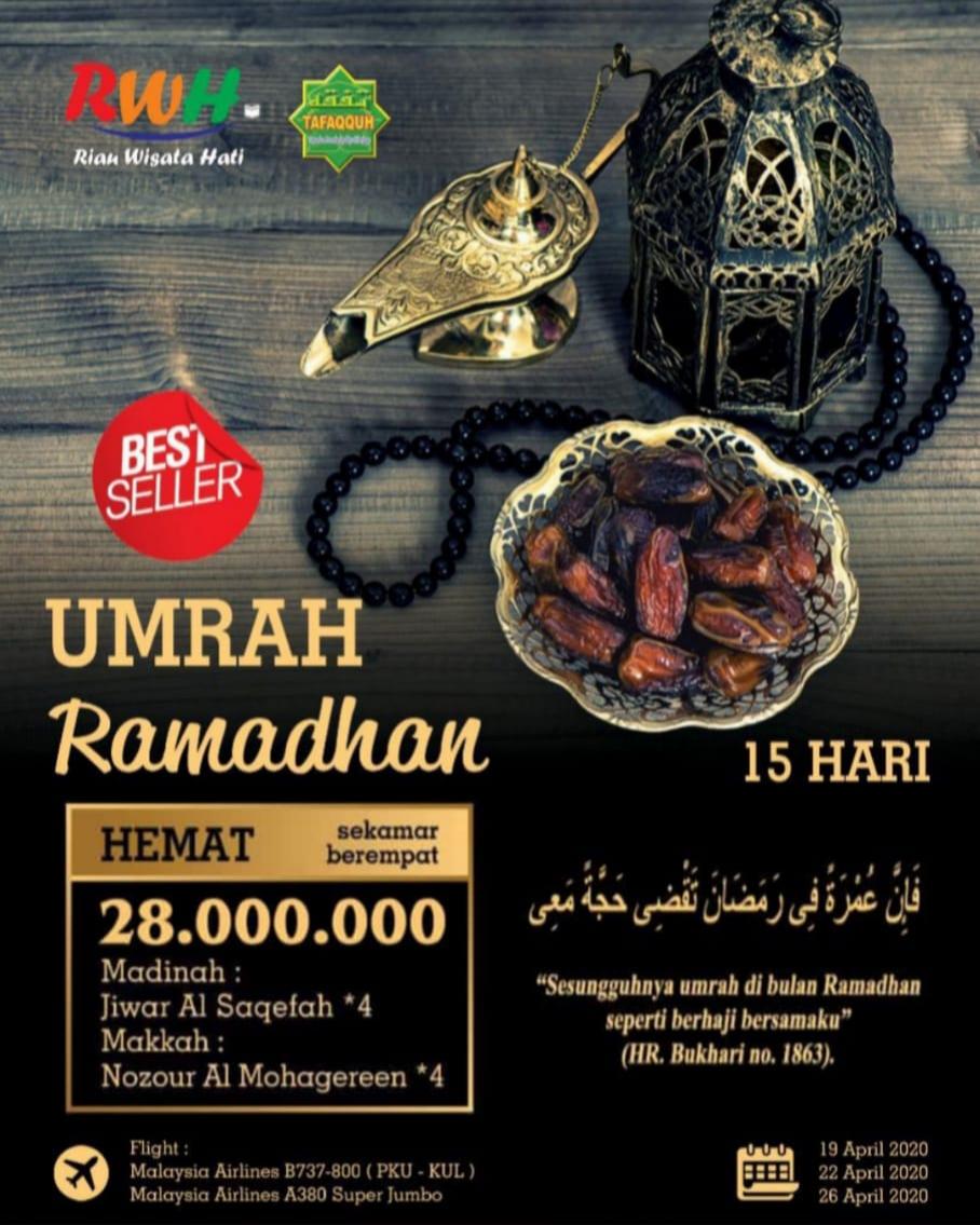 Paket Umrah Murah di bulan Ramadhan penuh berkan