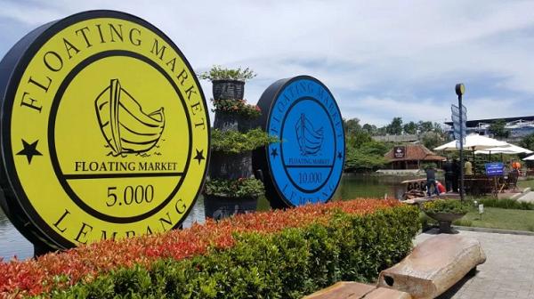 Floating Market Lembang, Tempat Wisata Bandung Favorit yang Seru Abis