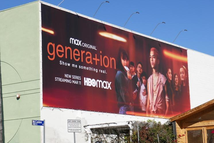 Generation series premiere billboard