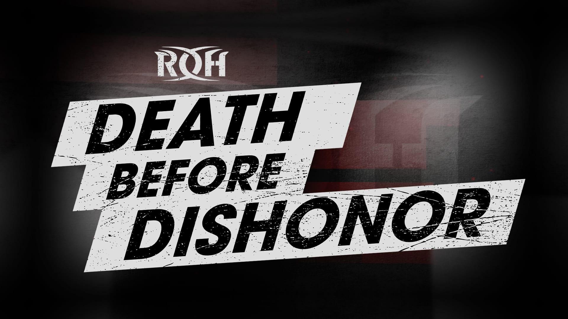 ROH anuncia mudança no local do Death Before Dishonor