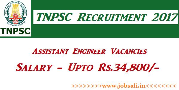 TNPSC Notification, TNPSC Assistant Engineer Vacancy, Govt jobs in Tamilnadu