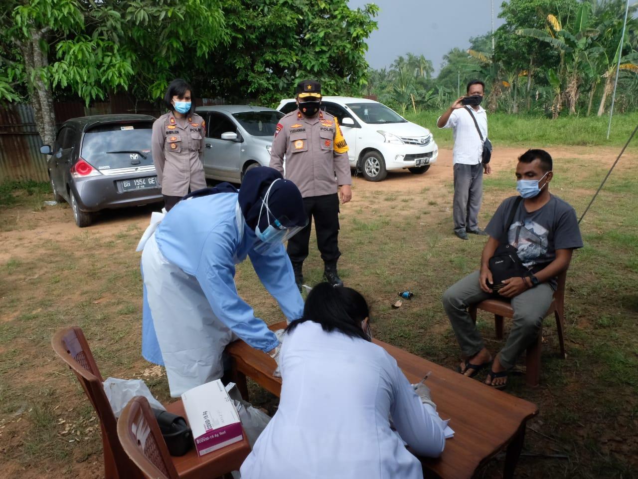 Wakapolda Jambi Kunjungi Pos Pemeriksaan Batas Jambi - Palembang