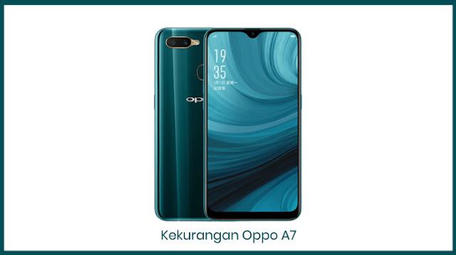 Kekurangan HP Oppo A7 (2018) Terbaru