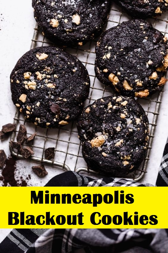 Minneapolis Blackout Cookies
