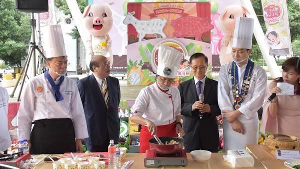 彰化羊肉暨健康豬肉 進軍台北希望廣場推廣