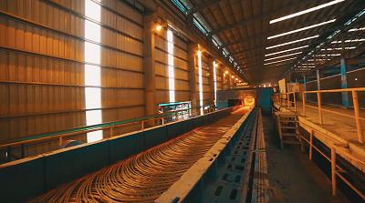 Dây chuyền sản xuất thép cuộn