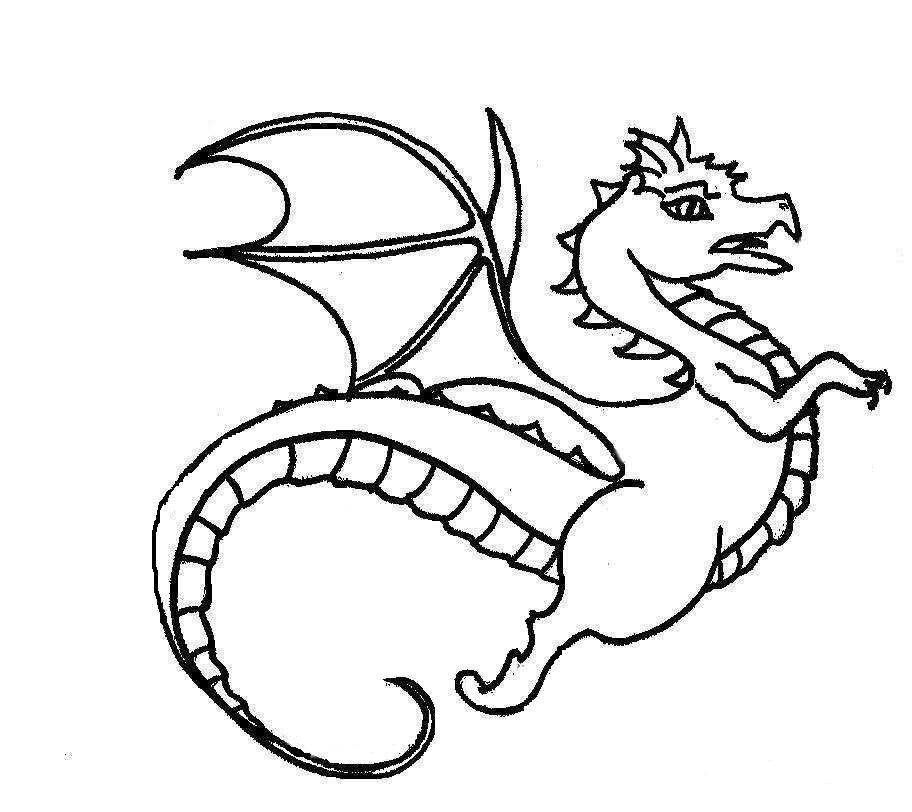 Dragon Coloring Pages Learn To Coloring Coloring Sheet