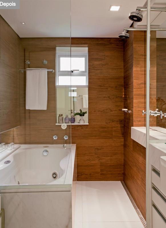 Construindo minha casa clean consultoria de decora o for Pisos pequenos modernos