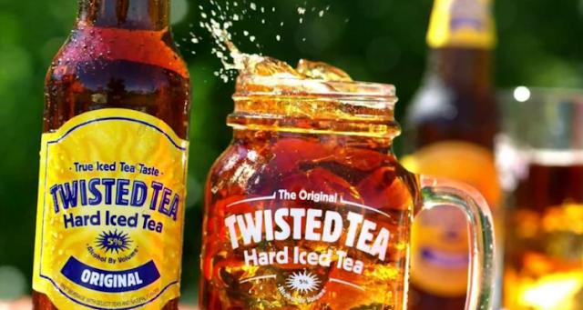 twisted tea calories