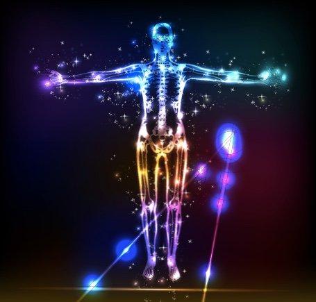 Вашето тяло е изтъканo от небесната светлина
