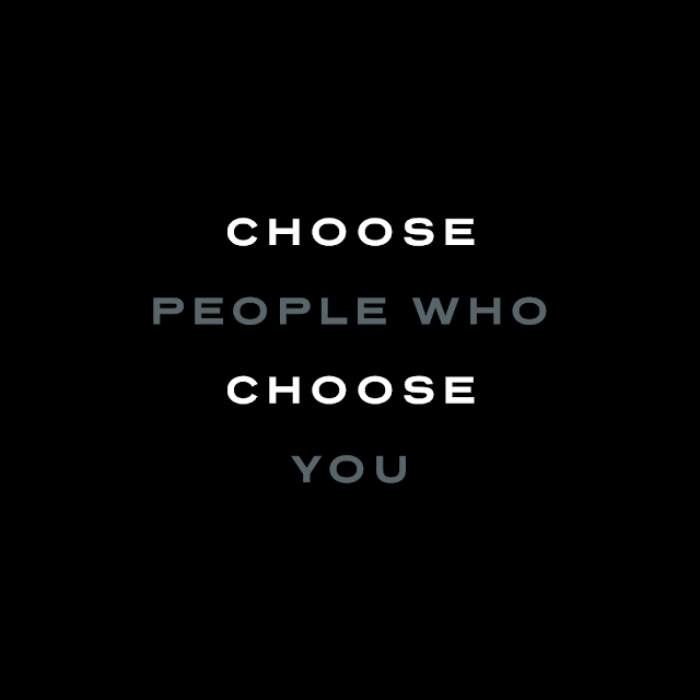 choose people who choose you, Beechhouse Media, Words to live by, Mark Taylor,