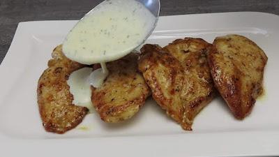 🆘 Ideja za Ručak - Pileća Prsa s Bijelim Umakom | Lunch idea - Chicken Breast in Creamy White Sauce