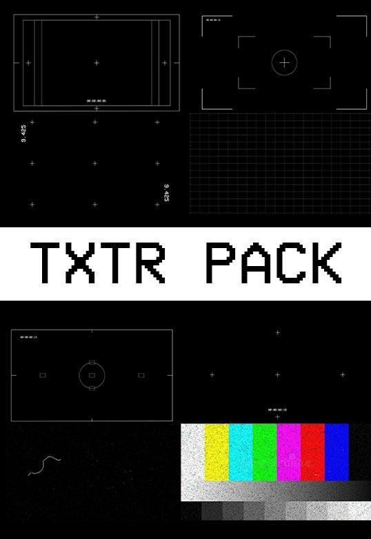 TXTR Pack[Master Filmmaker][Overlay]