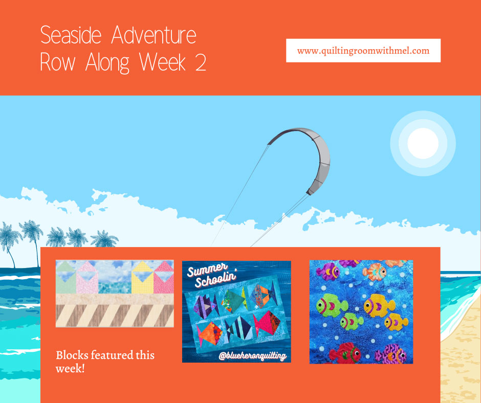 WEEK 2 SEASIDE ADVENTURE ROW ALONG