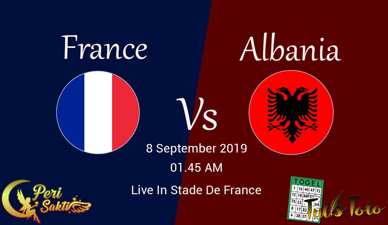 Prediksi Prancis vs Albania Kualifikasi Euro 2020 8 September 2019