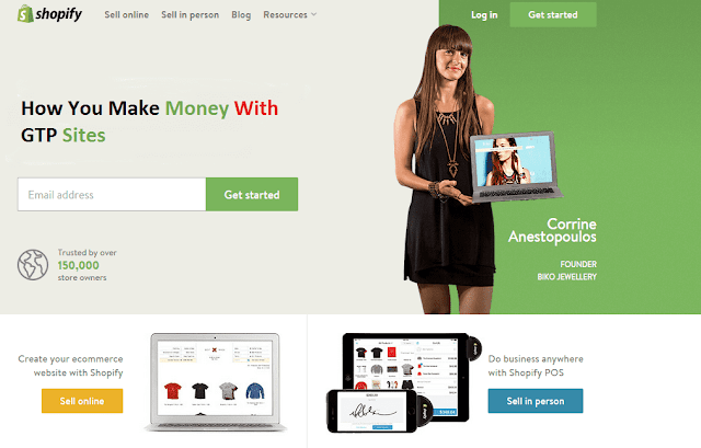 How You Make Money With GTP Sites