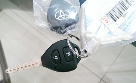Địa chỉ làm chìa khóa cơ xe Toyota uy tín