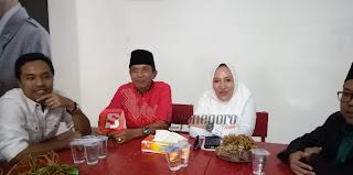 Dari Kantor DPC PPP, Anna Muawanah Berlanjut Datangi Kantor DPC PDI Perjuangan