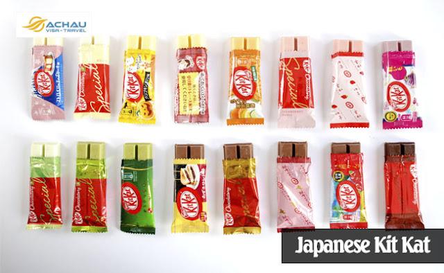 Món ăn vặt bạn có thể mua khi du lịch Nhật Bản