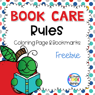 I Also Have This Free Book Care Rules Coloring Page And Bookmarks Available In My Store Is A Great Way To Reinforce All Year Long