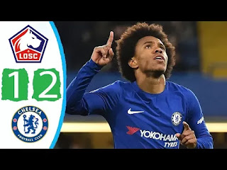 Lille Vs Chelsea 1-2 All Goals And Match Highlights [MP4 & HD VIDEO]