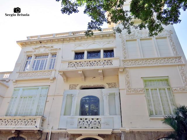Palácio dos Cedros (fachada lateral)