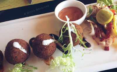 Salt Restaurant Review - Vijaya Forum Mall - Cheese Balls