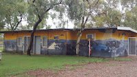Wycliffe Well murals by Pam Armstrong | Northern Territory Street Art