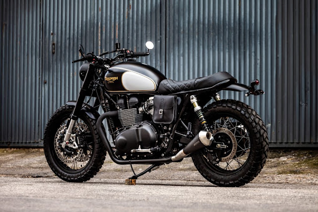 Triumph Bonneville 2015 By Macco Motors Hell Kustom