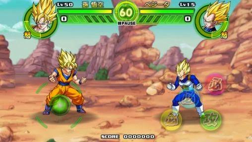 Songoku đánh nhau trong game