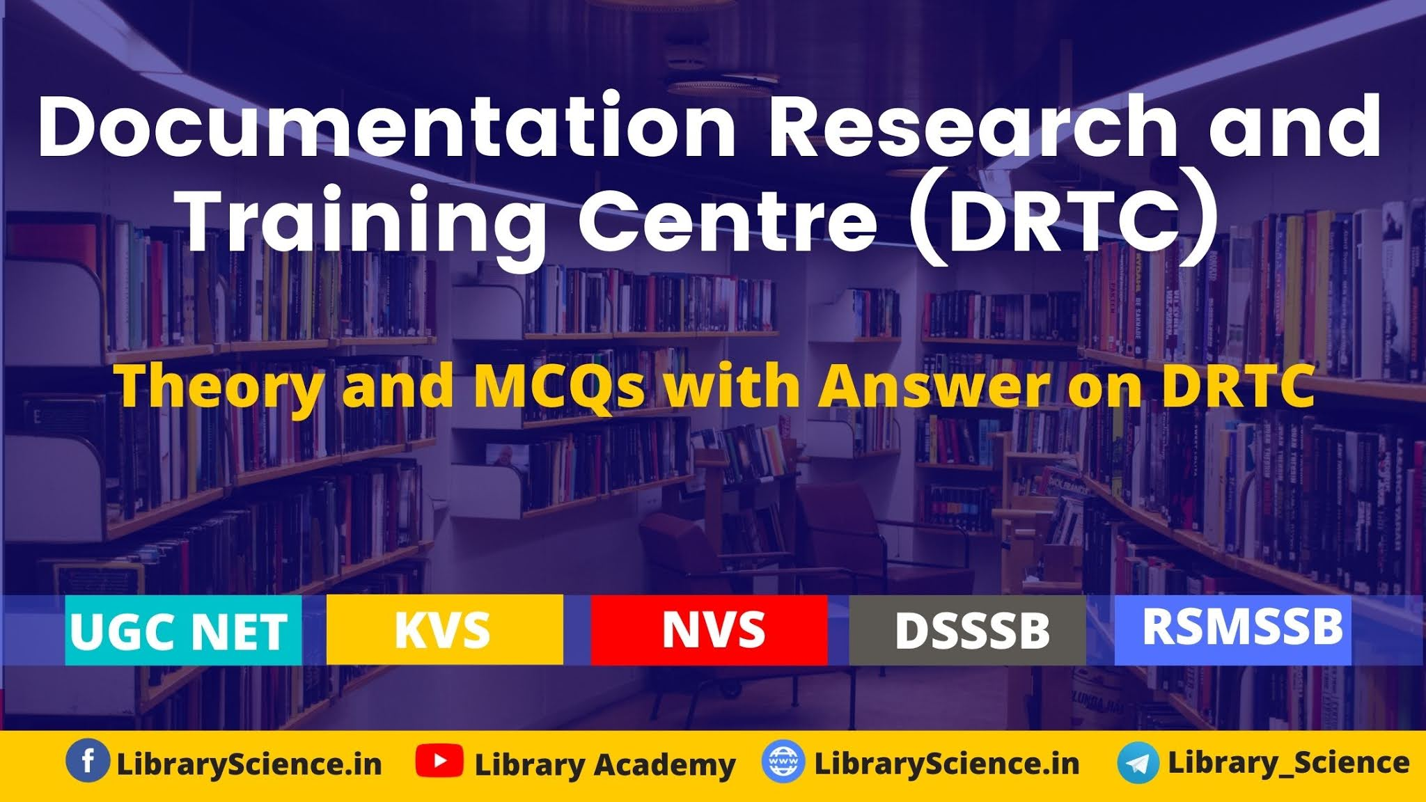 Documentation Research and Training Centre