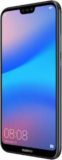 Huawei P20 Lite (Black, 4GB RAM, 64GB Storage)