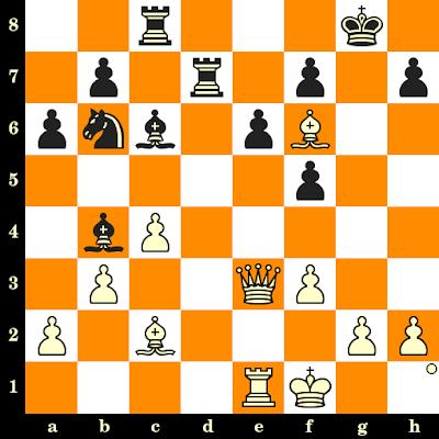 Les Blancs jouent et matent en 3 coups - Alexander Tolush vs Gedeon Barcza, Leningrad, 1962