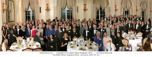 The 2015 BSI Dinner group photo