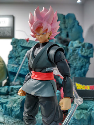 Goku Black con su transformación SSJ Rose.
