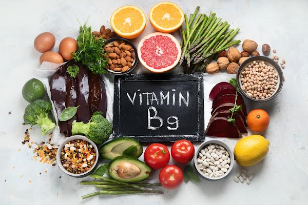حمض الفوليك (فيتامين ب 9)